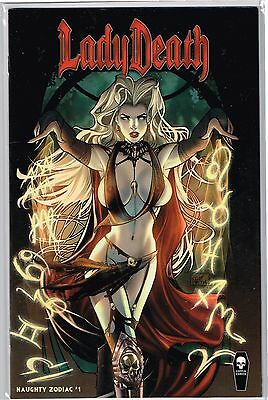 LADY DEATH ZODIAC #1 ALL NAUGHTY Edition Boundless NM Comic - Vault 35