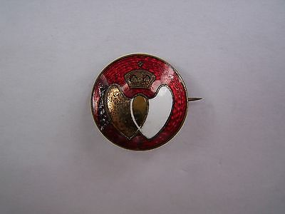 BLOOD DONOR, BADGE, PIN, ENAMEL, GILT, EARLY 60's, VINTAGE