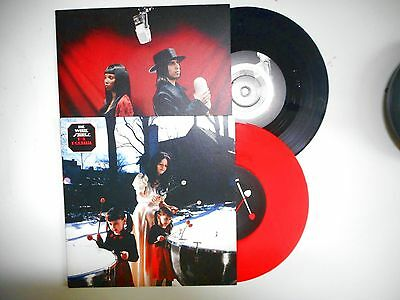 "★█★ THE WHITE STRIPES : LOT OF 2 x 7"" - MY DOORBELL (RED VINYL) + BLUE ORCHID"