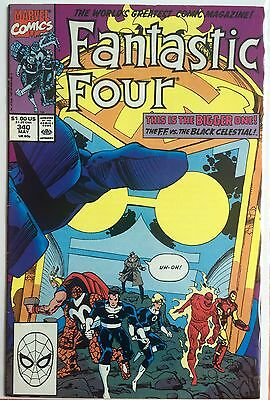 Marvel Comics: Fantastic Four #340 Very Fine May 1990 Walter Simonson