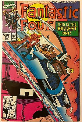 Fantastic Four  #341 VF Jun 1990 Walter Simonson 1st appearance of new FF
