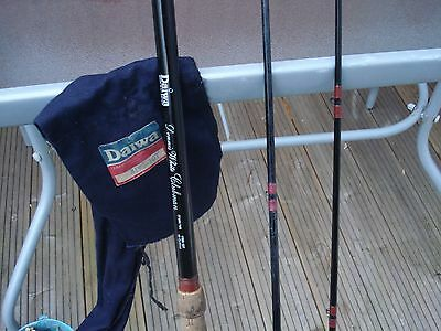 VINTAGE DAIWA DENNIS WHITE CLUBMAN TWIN TIP 10fT FISHING ROD & ORIGINAL BAG