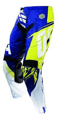 SHOT RACE GEAR 2017 CONTACT FAST BLUE YELLOW Adult MX PANTS Enduro Off Road