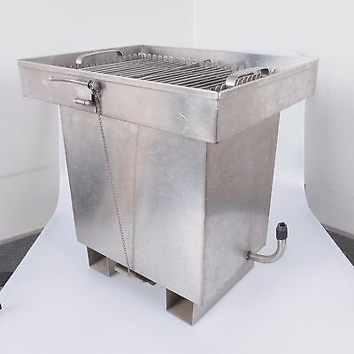 = Leedal Stainless Steel Film Processing Print Washing Tank for 4x5 with Hangers