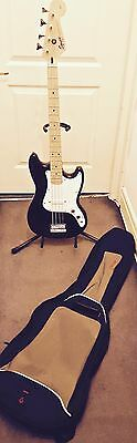 Fender Squire Bronco Bass Guitar ( Mint Cond.) with gig bag
