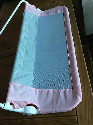 Great Lindam Easy Fit Bed Guard - Pink. RRP £20 - £25