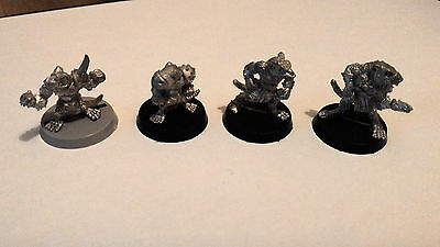 Blood Bowl 2nd Edition Skaven Players x4
