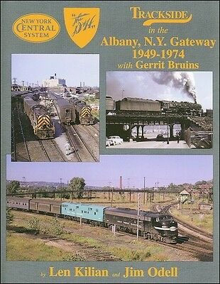 Trackside in the ALBANY, NEW YORK Gateway,1949-1974 (Albany-Rensselaer-Troy)
