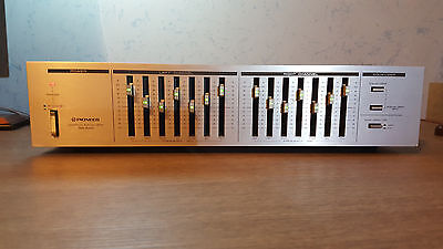 PIONEER VINTAGE Stereo Graphic Equalizer