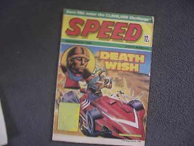 Speed 22nd March 1980 Comic