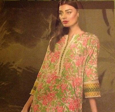 ORIGINAL KHAADI 2PC SUIT COTTEN TAILOR STITCHED Beautiful Floral Print