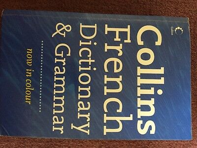 Collins French Dictionary and Grammar by HarperCollins Publishers (Paperback,..
