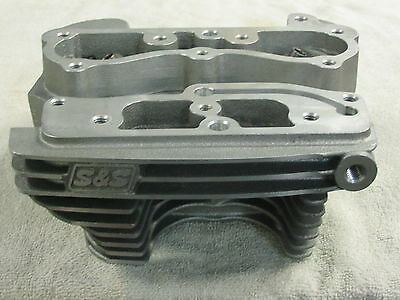 NOS S&S Twin Cam Rear Head, machined for ACR, for Harley