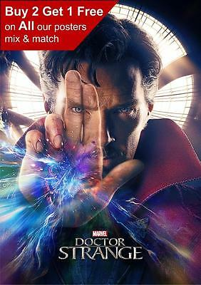 Doctor Strange Benedict Cumberbatch Movie Poster A5 A4 A3 A2 A1