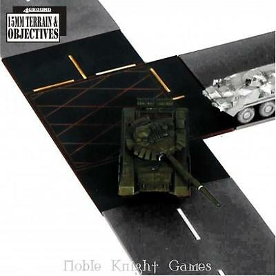 4Ground 15mm Terrain & Obstacles T-Junctions Pack MINT