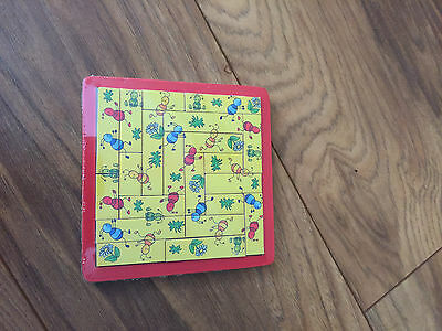 New Wooden Educational Game Running Ants Puzzle 21 Pieces Goki