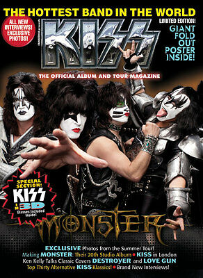 KISS The Official Album And Tour Magazine #2