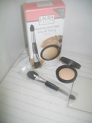 Laura Geller ' Highlighting made easy ' 2 piece set with french vanilla