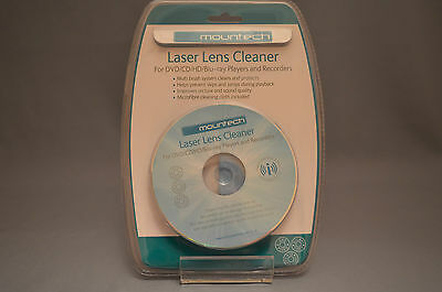 Mountech Laser Lens Cleaner MT-M102 for DVD, CD, HD and Blu-ray