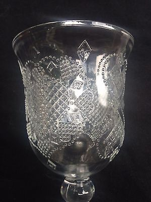AVON Hearts and Diamonds Water Goblet 1978