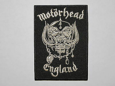 MOTORHEAD England embroidered by metallic thread NEW patch