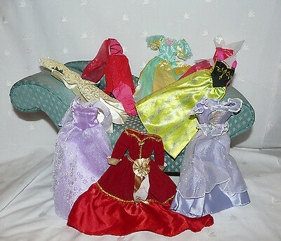 Barbie Clothes Holiday Gown Lot of 8 #40