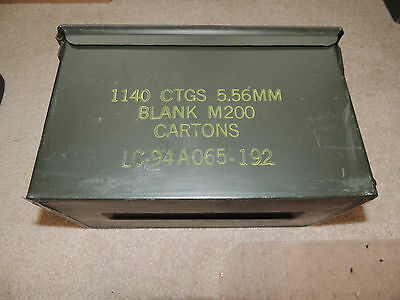 Larger Ammo Can Box Army Surplus 5.56mm