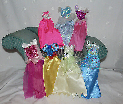 Disney Barbie Clothes Holiday Gown Lot of 7 #51