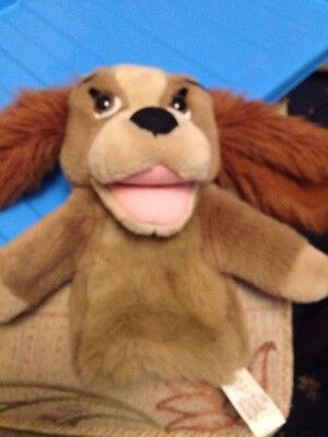 Lady Of Lady And The Tramp Puppet made By The Walt Disney Company