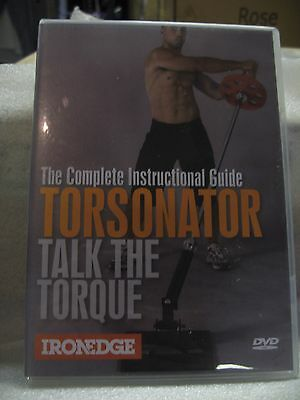 """complete Instruct Guide Torsonator - Talk The Torque"" Weight Training Dvd ""new"""