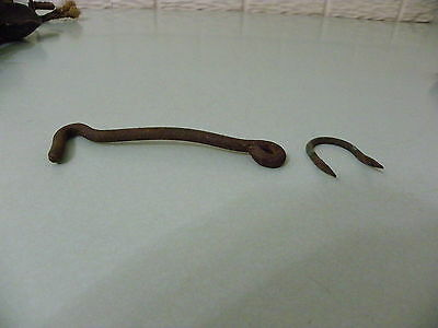 Antique Gate Or Barn Door Hook With Stable