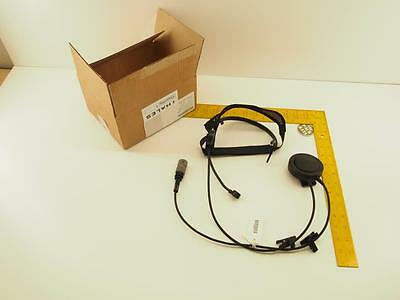 New Thales Racal Lightweight Headset, 23386 1600551-2, Commercial MBITR Headset