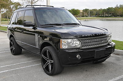 2006 Land Rover Range Rover HSE Supercharged 2006 Land Rover Range Rover HSE Supercharged