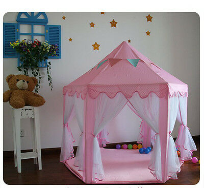Kids Indoor Outdoor Play Tent Playhouse Pop Up Wigwam Party Christmas Gift