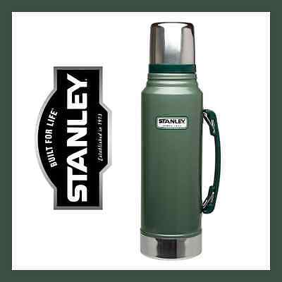 STANLEY Classic Stainless Steel Vacuum Flask Bottle 1L - Green *FAST, AUS*