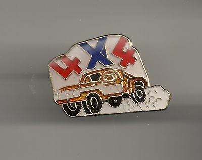 Vintage 4x4 Tow Truck old enamel pin