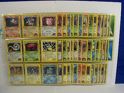 Complete Gym Heroes Pokemon Card Set~All 132 1st Ed..132/132..ALL MINT~UNPLAYED