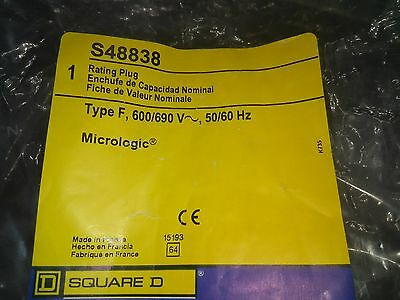 Square D S48838 Micrologic Rating Plug