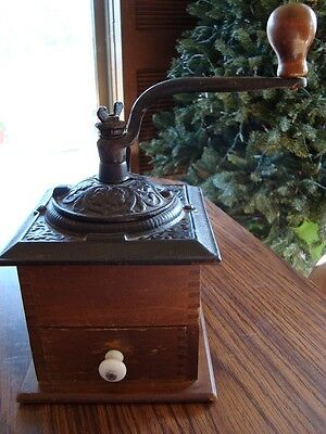 Antique Coffee Grinder Reproduction