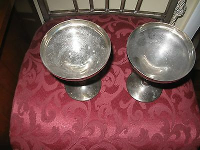 F.b.rogers Silver Plated Made In Spain Wine Servers