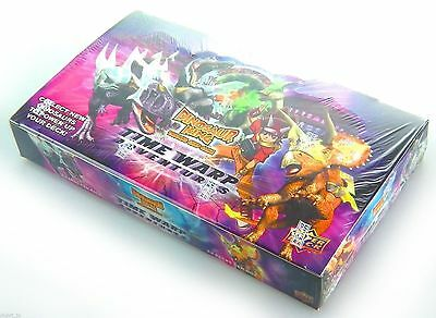 Dinosaur King Trading Card Game Time Warp Adventures Box of 24 x Booster NEW