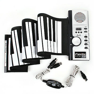 61 key Roll Up Piano E-Klavier Keyboard Rollpiano Interface Fortgeschrittene