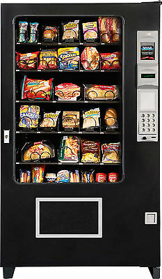 Food/Deli Vending Machine Made By A M S With Coin & Bill Acceptor (BRAND NEW)