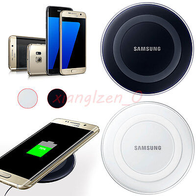Genuine For Samsung Galaxy S7 Edge S6 Fast Qi Wireless Charger Pad Charging New