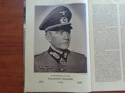 "Ww2 1940 Germany Cavalry Magazine~Horses In War~Wehrmacht ""deutfche Keiterhefte"""