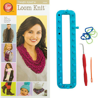 I Taught Myself To Loom Knit-