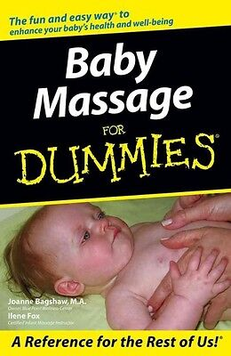 Baby Massage for Dummies by Joanne Bagshaw Paperback Book (English)