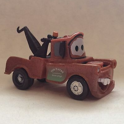 Disney Store Authentic CARS TOW MATER FIGURINE Cake TOPPER PIXAR TOY NEW