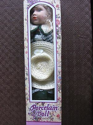Porcelain Doll - New In  Box
