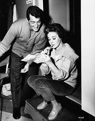 Susan Hayward And Dean Martin Behind Scenes 8X10 Photo 17